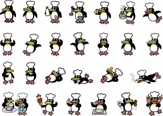 ペンギンシェフ色々.jpg